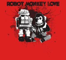 Robot Monkey Love