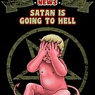 SATAN GOING TO HELL by MEDIACORPSE