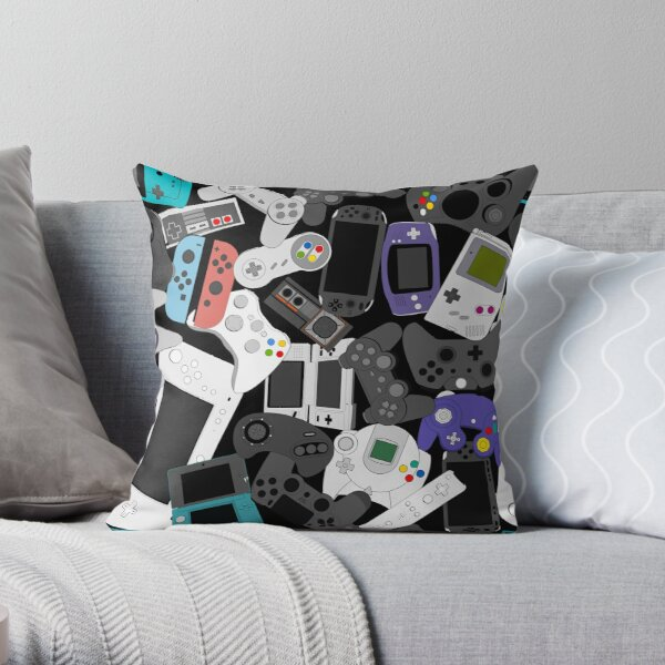 GAMER CONTROLLER Throw Pillow