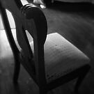 Lucinda's chair in shadow by chrissylong