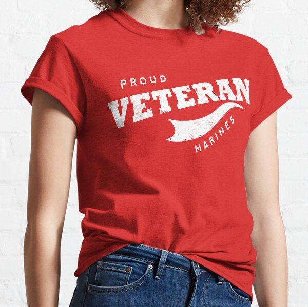 Proud Veteran   Marines Classic T-Shirt