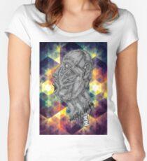 Psychedelic Euphoria Women's Fitted Scoop T-Shirt