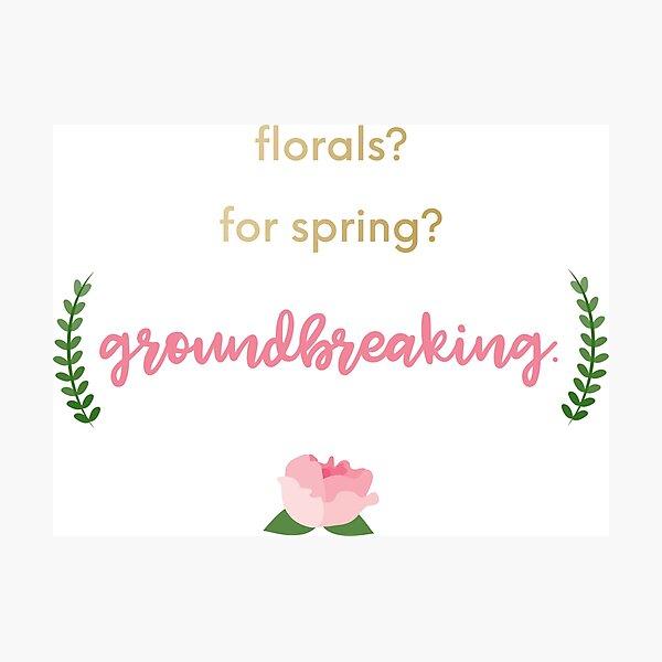 Florals Photographic Print