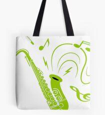 Saxo virtual  Tote Bag