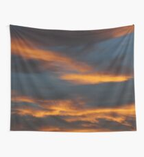 Firy December Sunset Wall Tapestry