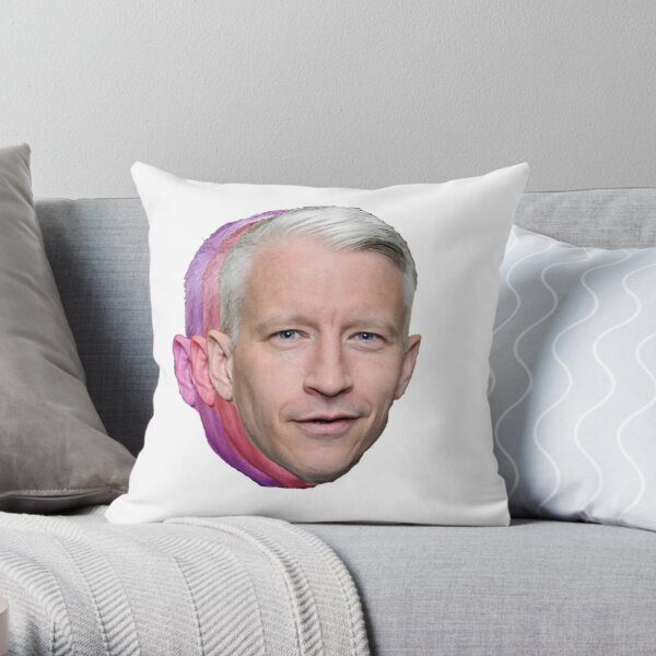 Anderson Cooper - CNN Throw Pillow