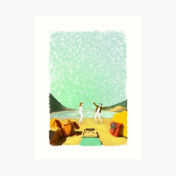 MOONRISE KINGDOM Painting Poster Art Print