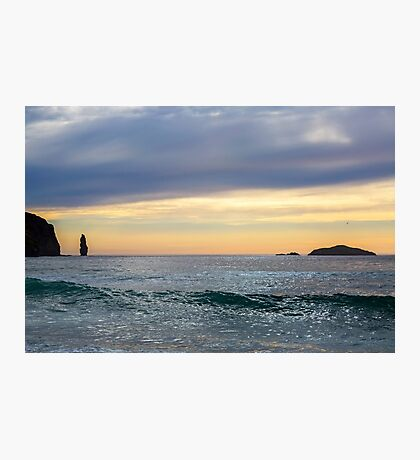 Sandwood Bay at Sunset Photographic Print