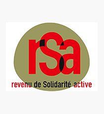 Lámina fotográfica RSA (ingresos de solidaridad)