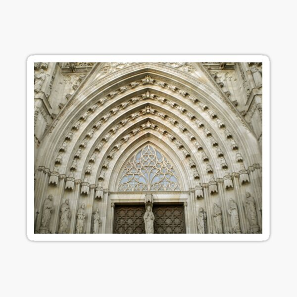 Cathedral de Barcelona Sticker