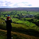looking over reeth by Mat Robinson