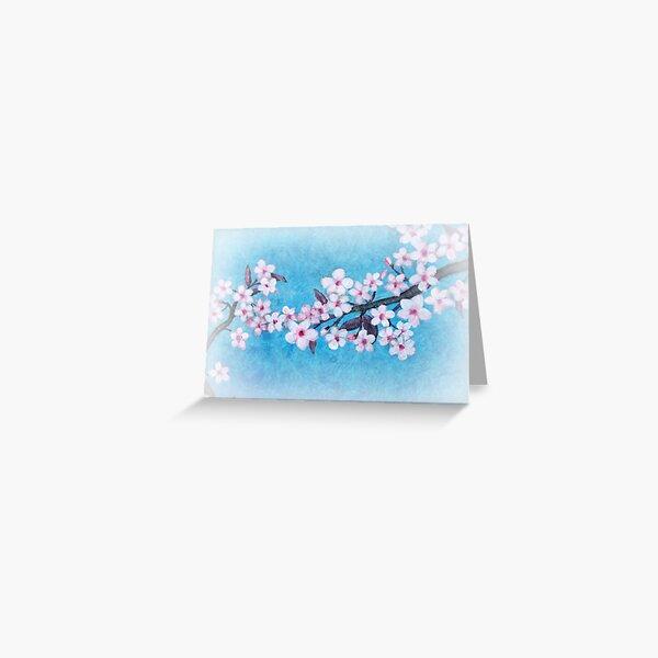 Spring - Cherryblossom - Card Greeting Card