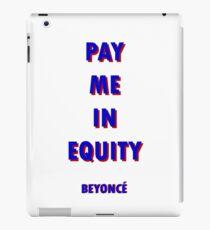 BEYONCÉ Equity iPad Case/Skin