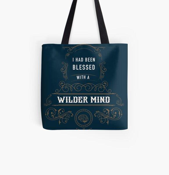 Wilder Mind All Over Print Tote Bag