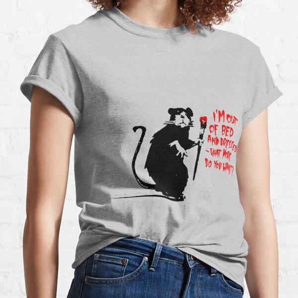 Rat Banksy Classic T-Shirt