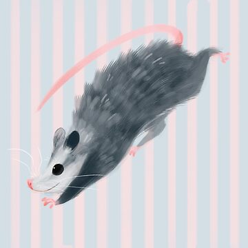 Lil' Opossum by Kuvolviski