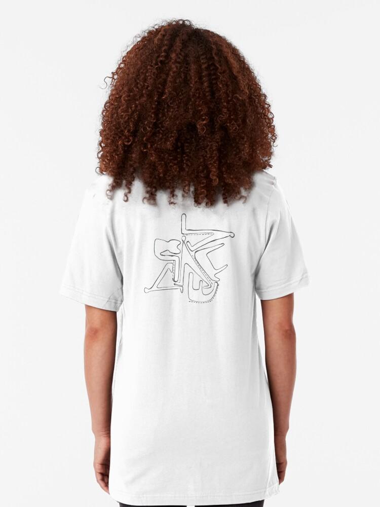 Alternative Ansicht von Humans And Mammals Slim Fit T-Shirt