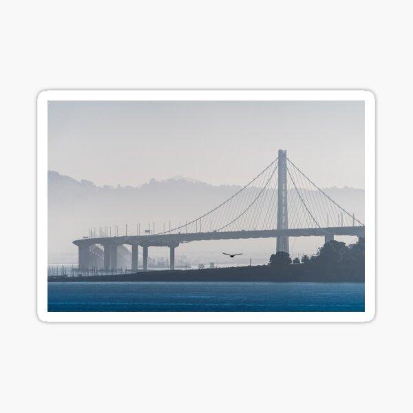 Oakland Bay Bridge, California Sticker