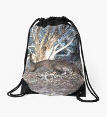 Lazy Old Kangaroo... Drawstring Bag