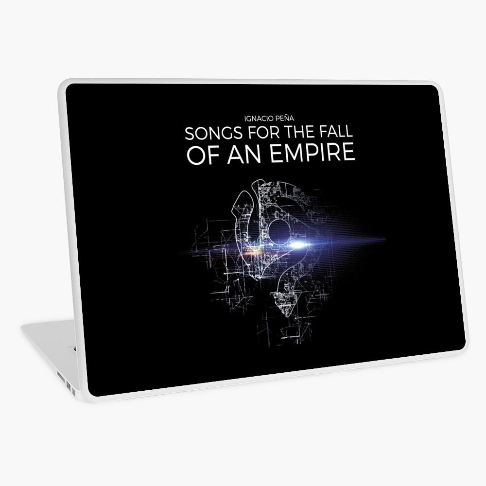 Ignacio Peña - Songs for the Fall of an Empire - Official Merchandise Laptop Skin