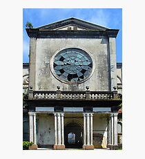 Detail of the Puriscal Church, Costa Rica Photographic Print