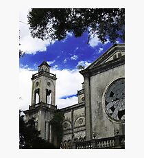 An other Detail of the Puriscal Church, Costa Rica Photographic Print