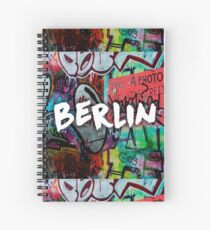 Berlin - By MelaCastagna Spiral Notebook