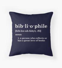 Cojín Bibliófilo
