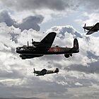 Battle of Britain Memorial Flight by sandmartin