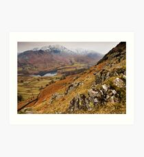 Wetherlam views Art Print