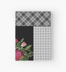 Rustic patchwork Hardcover Journal
