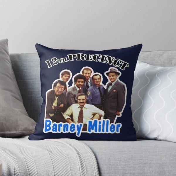12th Precinct Barney Miller Cast Graphic Throw Pillow