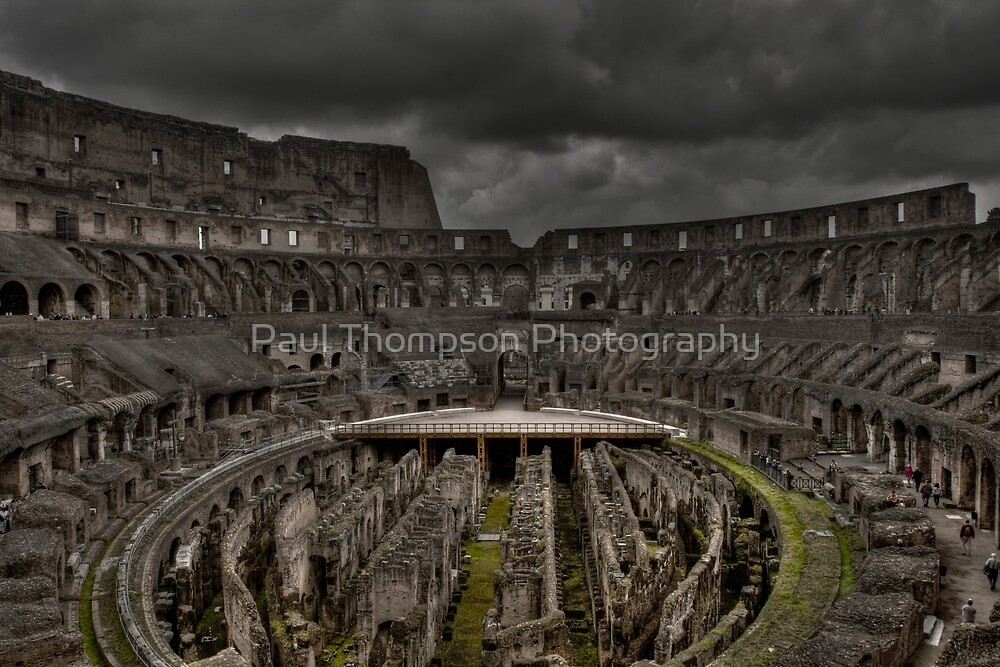 Inside The Colesseum by Paul Thompson Photography