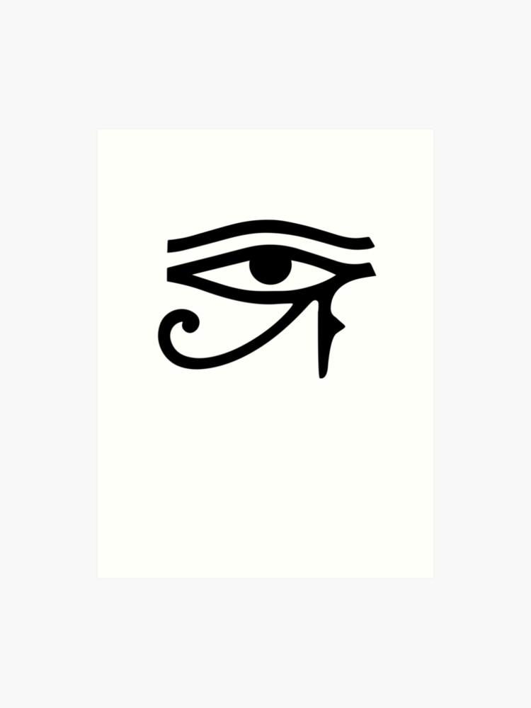 Third Eye of Ra Horus Egyptian 3rd Eye   Art Print