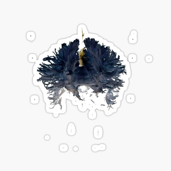 Blue Brain Sticker