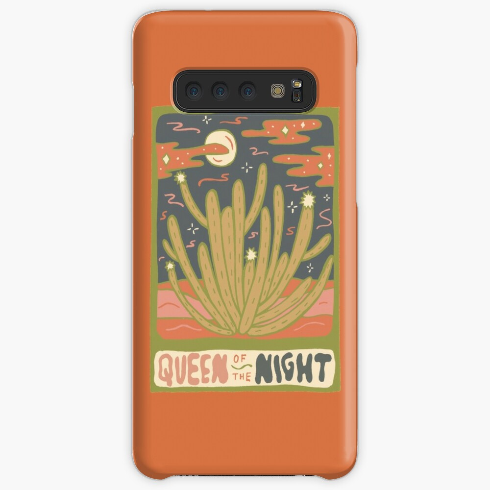 Cactus Tarot Cards- Queen of the Night Case & Skin for Samsung Galaxy