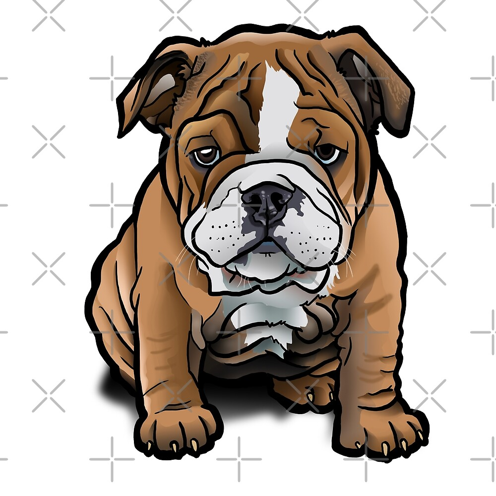 Bulldog Pup by binarygod