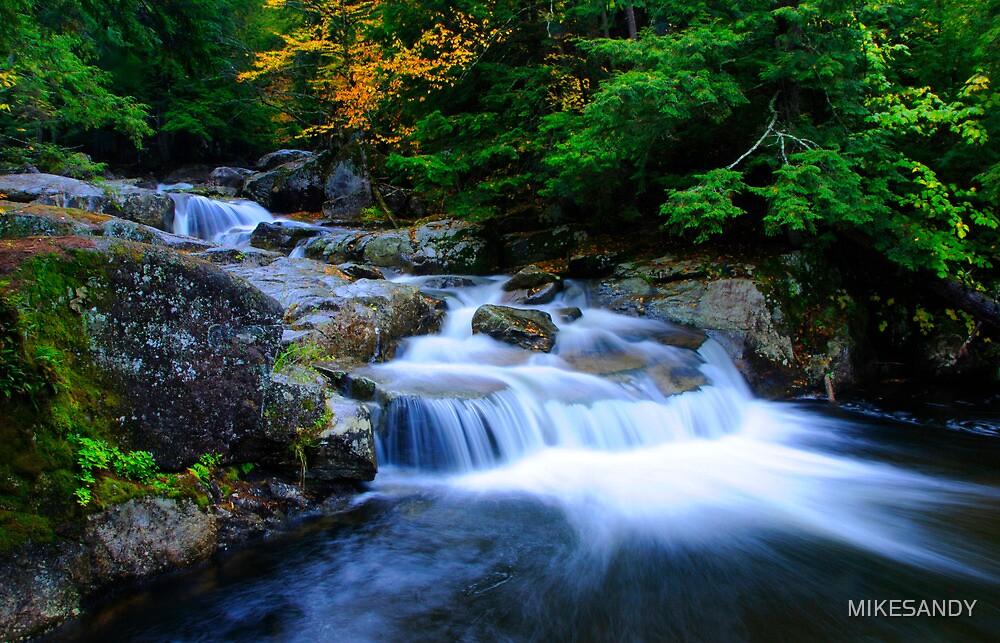 Small Falls at Adirondack Mountains, New York image - Free