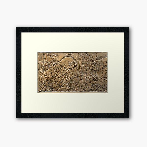 Deco Aquarium Framed Art Print