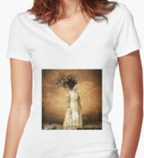 No Title 54 Women's Fitted V-Neck T-Shirt