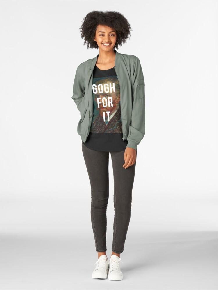 Alternative Ansicht von Vinspiration Premium Rundhals-Shirt
