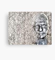 A-MAZE-ing Man! Canvas Print