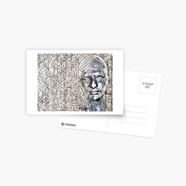 A-MAZE-ing Man! Postcard