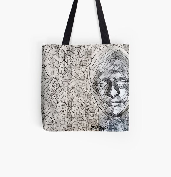 A-MAZE-ing Man! All Over Print Tote Bag