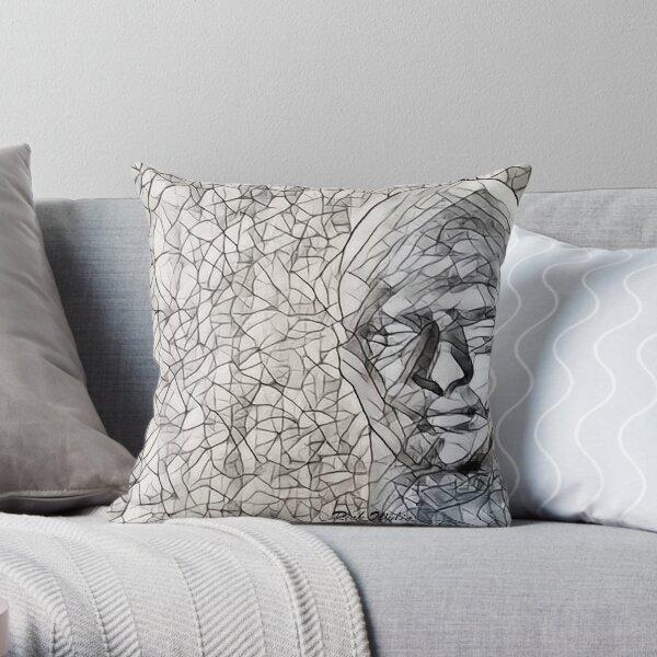 A-MAZE-ing Man! Throw Pillow