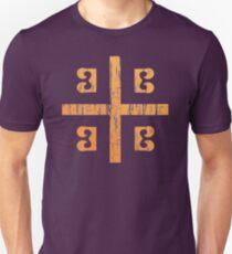 Byzanz-Flagge Slim Fit T-Shirt