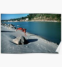 Ganga River Rishikesh India Poster