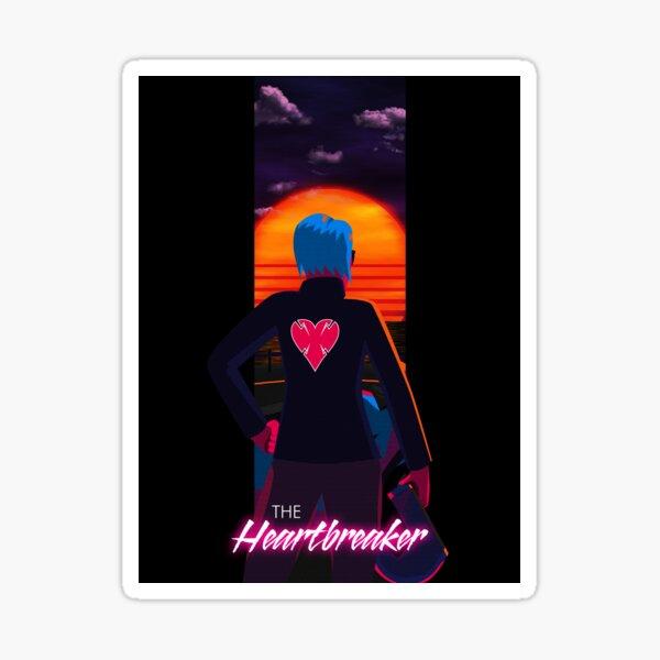 The Heartbreaker Sticker