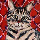 Brommie the Cat by Julie Ann Accornero
