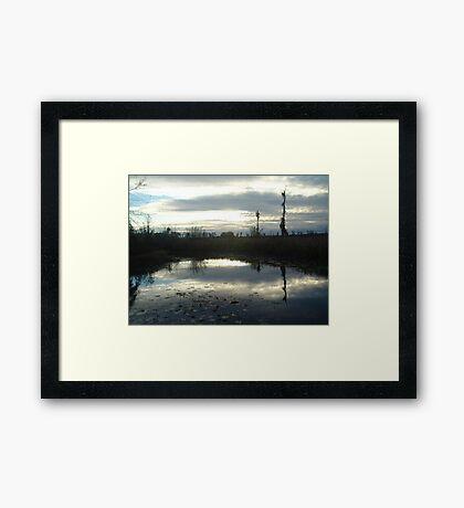 Cold Afternoon Framed Print